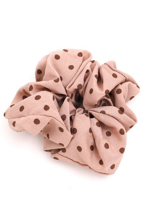 Polka Dot Scrunchie || 3 Colors
