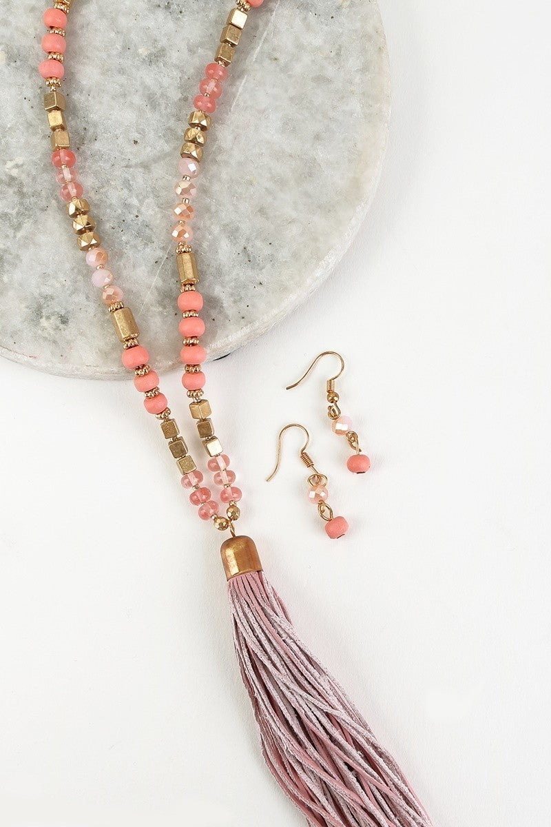 Cleo Necklace & Earring Set || 4 Colors