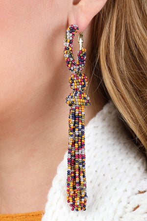 Dance Dance Tassel Earrings || 5 Colors