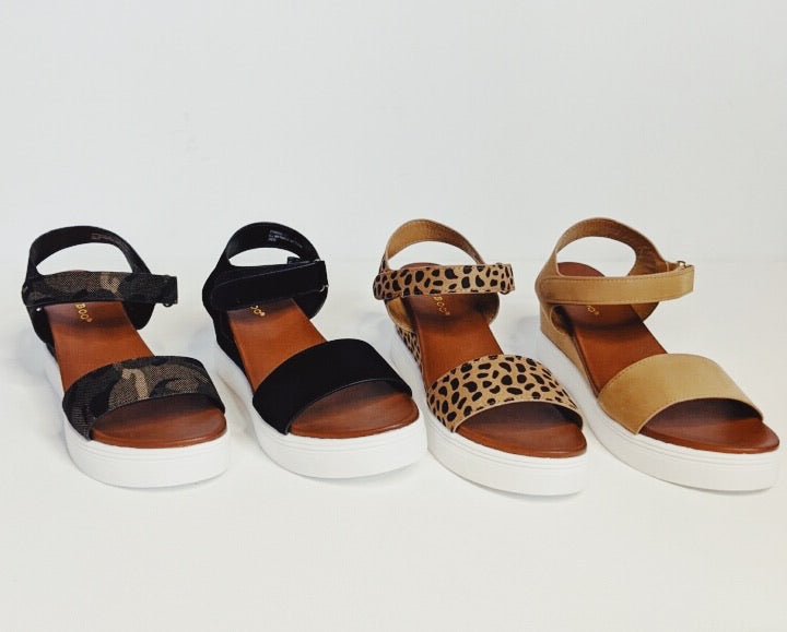 Winning The Weekend Wedge || Black, Cheetah, Camel or Camo