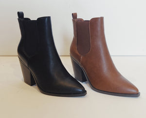 Going West Boot || Black or Chestnut