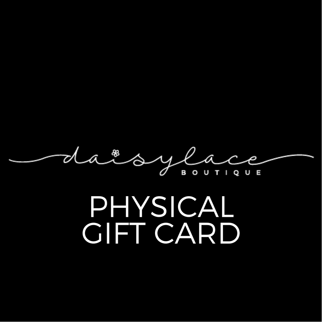Physical Gift Card || Will Be Shipped