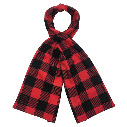 Buffalo Plaid Reversible Scarf