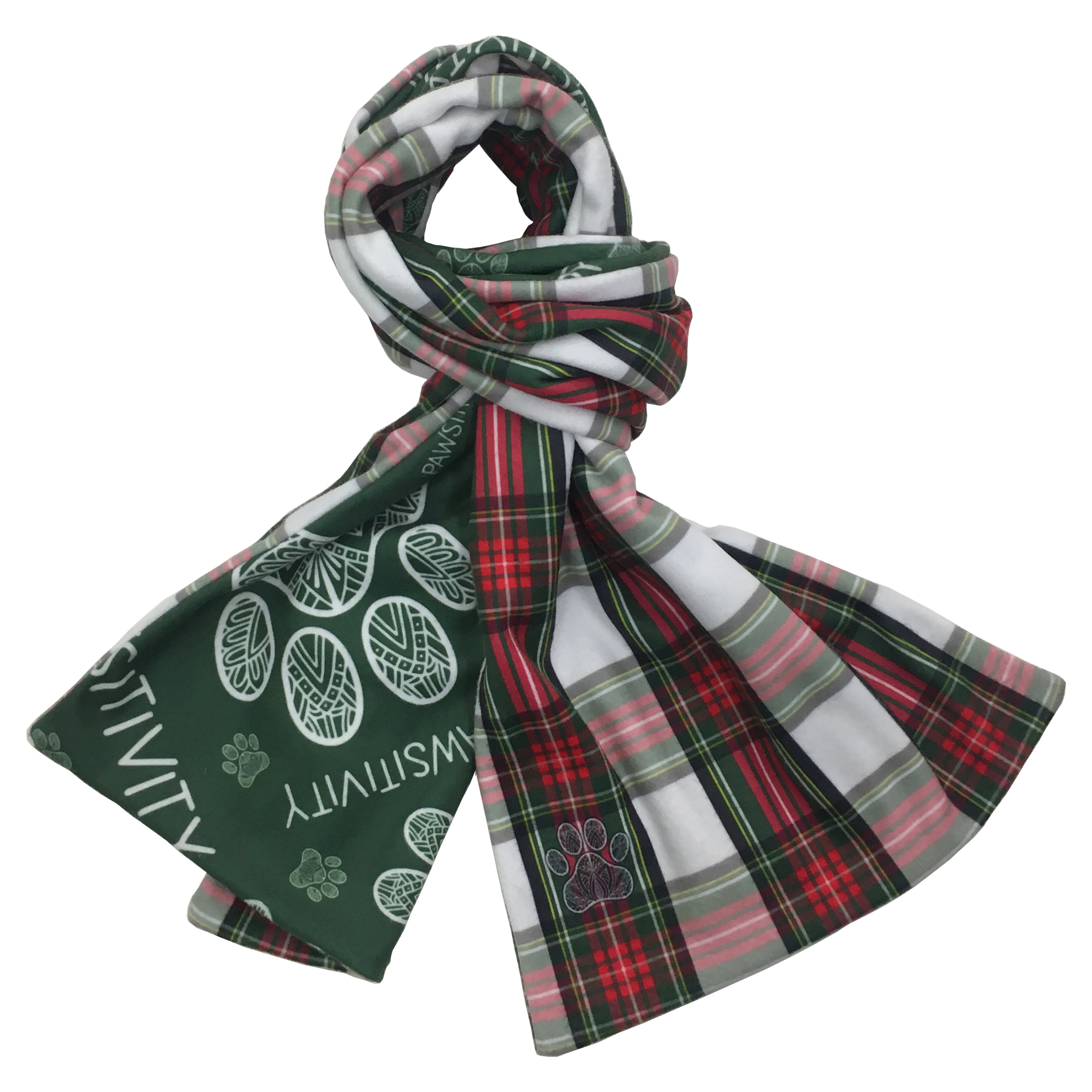 Holiday Plaid Reversible Scarf