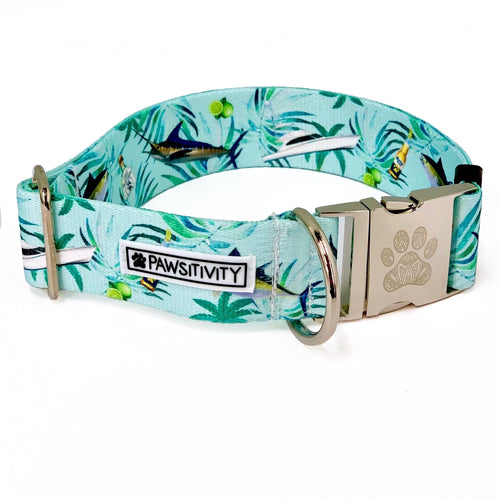 "Pawtron in Paradise 1.5"" Statement Collar"