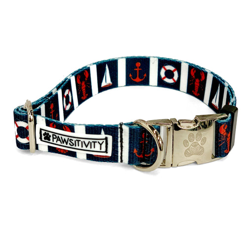 Navy Nautical Collar