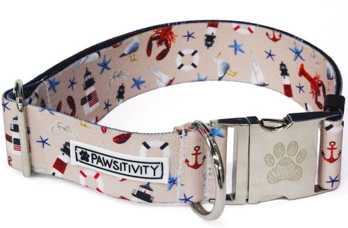 "Seagull Nautical 1.5"" Statement Collar"