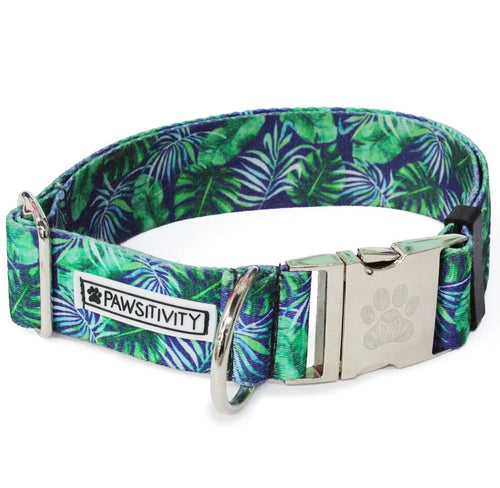 "Blue Palms 1.5"" Statement Collar"
