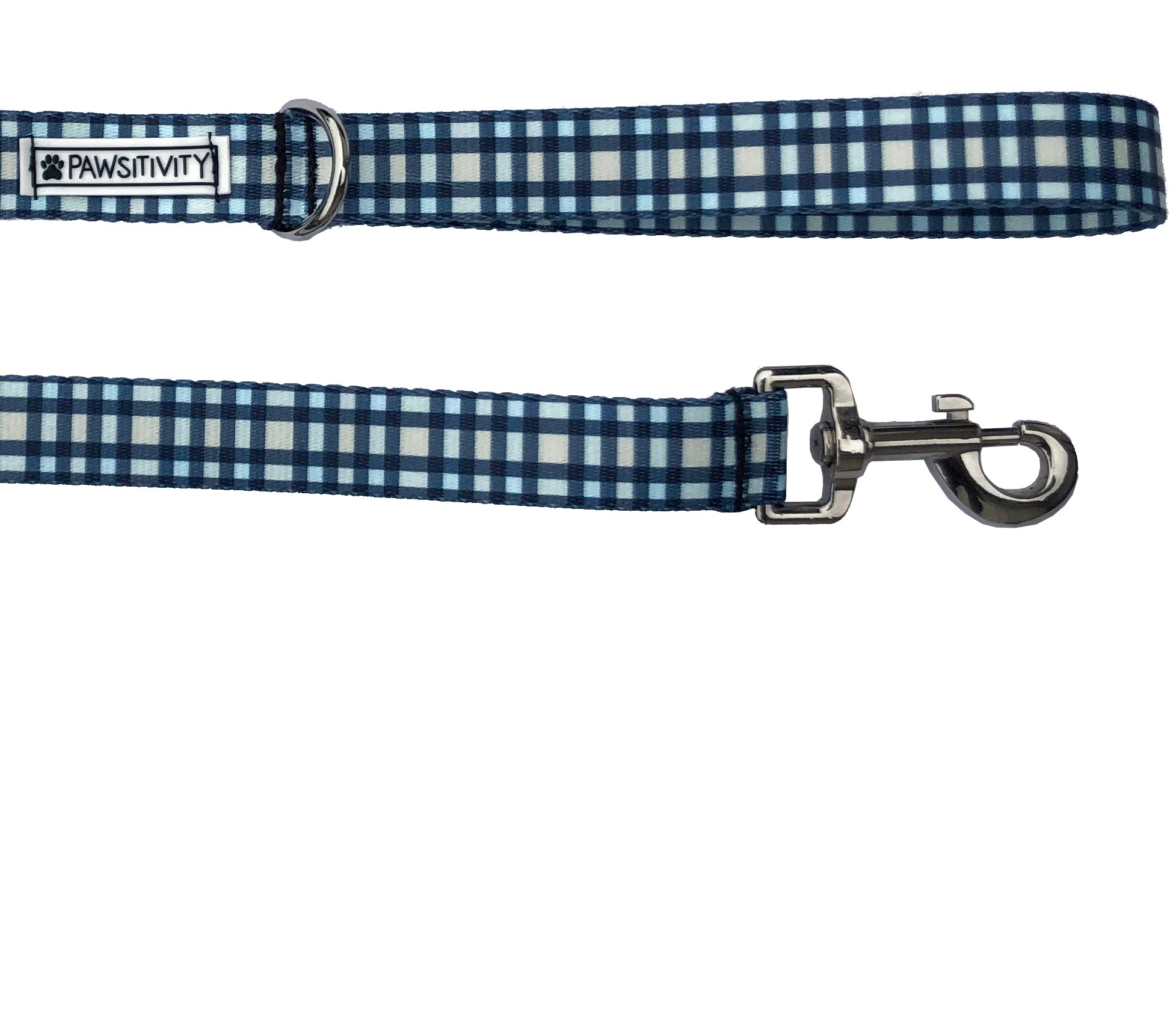 Blue Plaid Leash