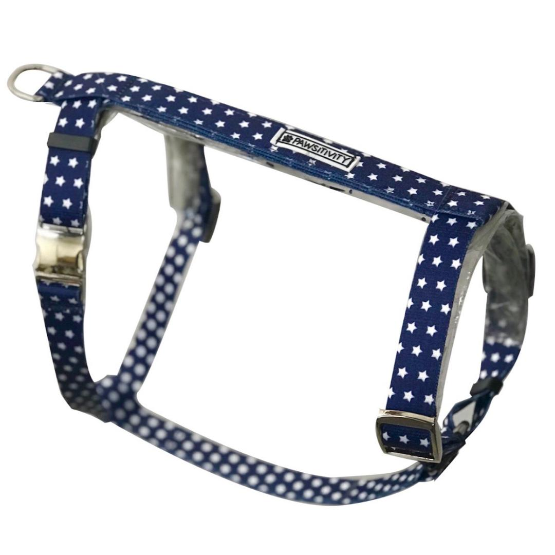 Navy Stars Strap Harness