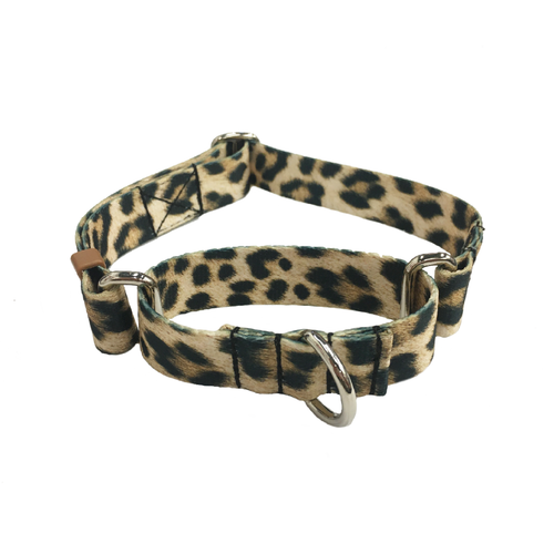 Leopard Martingale Collar