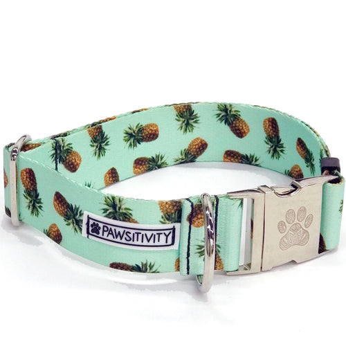"Mint Pineapple 1.5"" Statement Collar"