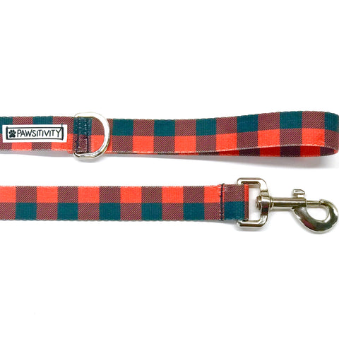 Buffalo Plaid Collar