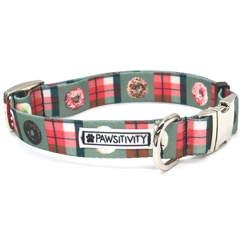 Donut Plaid Collar