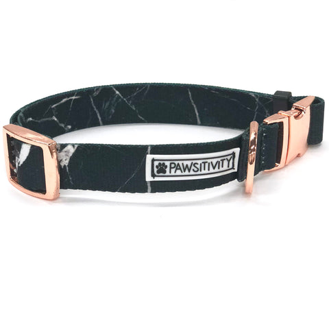 Pawsitivity Reversible Harness - Black Marble & White Marble