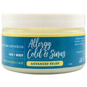 Advanced Allergy, Cold & Sinus Congestion Relief Balm | 4 oz
