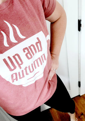 Up & Autumn Graphic Tee