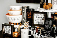 Fall Glitter Tumbler Trick or Treat