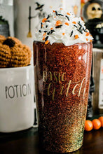 Basic Witch Glitter Tumbler