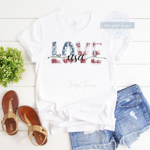 Love USA T Shirt