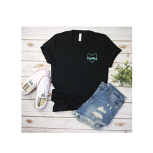 Mini Crew neck Black T shirt