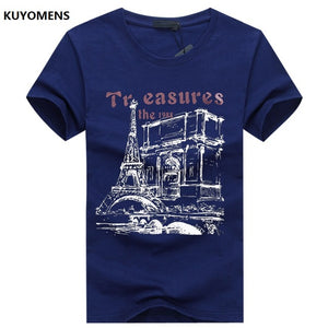 Summer Short Sleeve Casual Men's T Shirt
