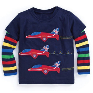 Boys Long Sleeve Tops T shirts