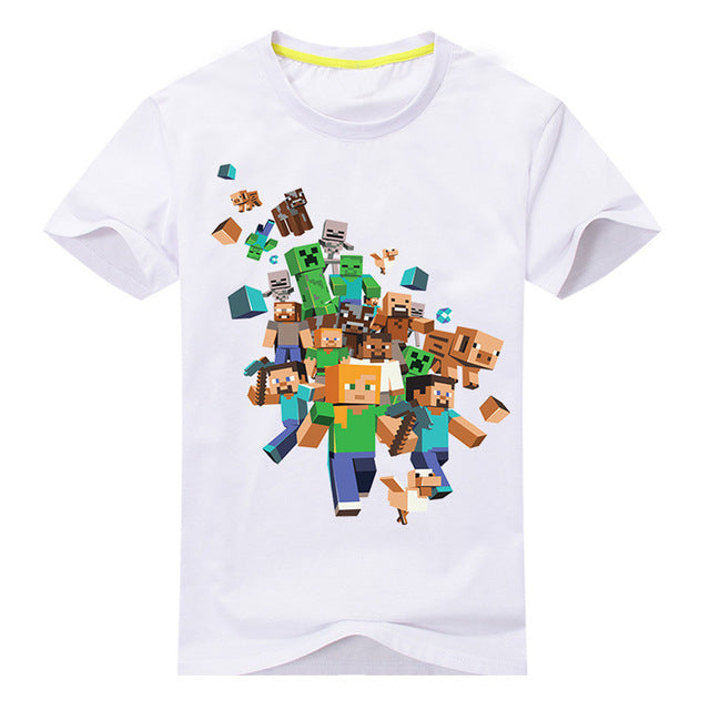 Kids Boys Video Game Run Away t shirt