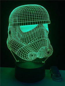 Death Star War 3D LED Lamp