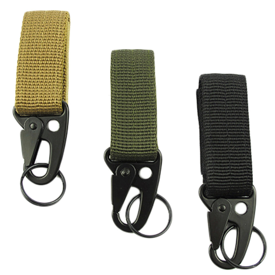 Hot! Men Outdoor Camping Tactical Carabiner Backpack Hooks