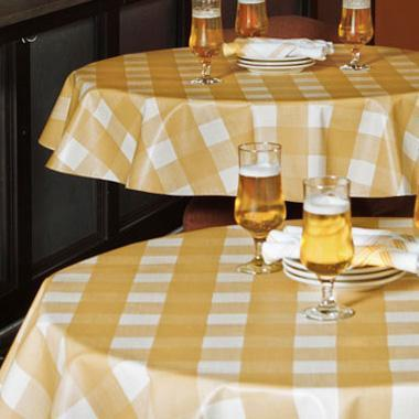 Heavy Weight (10 Gauge) Vinyl Tablecloths