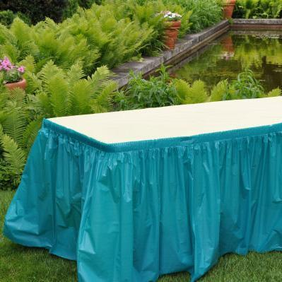 Disposable Table Skirts (Kwik Skirts)