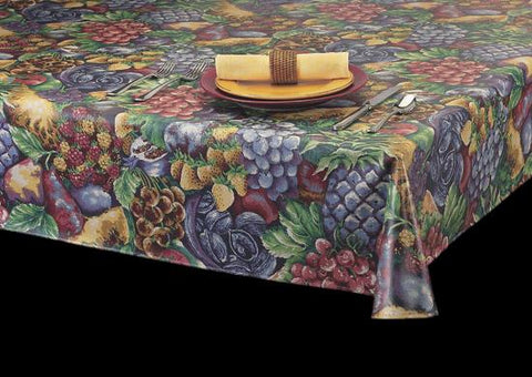 Heavyweight Lovely Sample Series Laminated Vinyl Tablecloth Roll, S1291