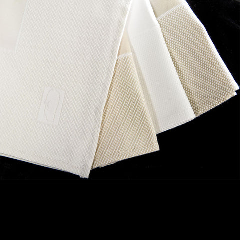 DiRoNA Bordered Pique Premium Cotton Tablecloth 1 Dz.