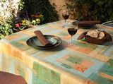 abstract print restauarnt vinyl tablecloth