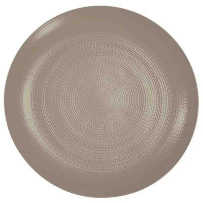 Degrenne Stone Dinnerware Collection - Modulo Nature Taupe (Terre d'Ombre)