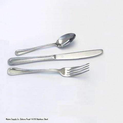 Deluxe Pearl Stainless Steel Flatware, Winco