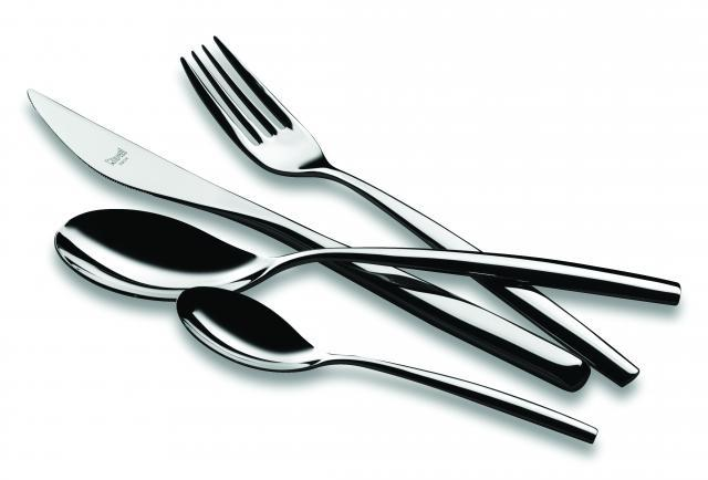 Stiria Stainless Steel Flatware, Mepra