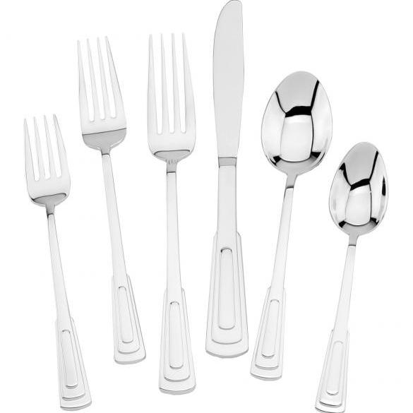 Chanteclair Stainless Steel Flatware, Walco