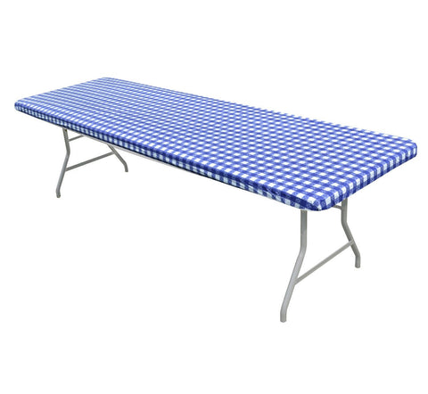 Printed Kwik-Covers Plastic Banquet Table Covers