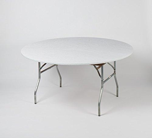 Kwik-Covers Fitted Plastic Round Table Covers