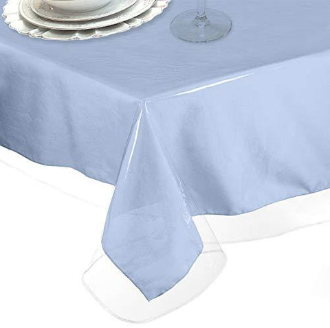Restaurant Quality Clear Vinyl Tablecloths 6 Gauge