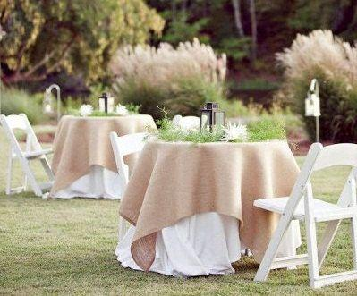 Burlap Tablecloth 1 Dz. Pack