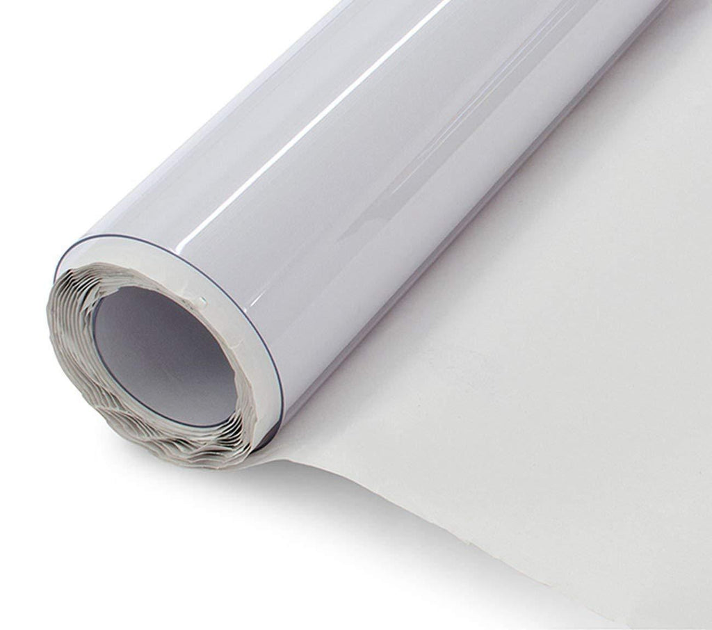 Clear Vinyl Tablecloth Rolls, 6 Gauge
