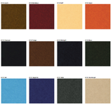 Sample of Premium Vinyl w/ Flannel Backing, Solid Color Patina Series, 12 Colors, S6110