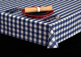 Economy Vinyl Roll w/ Flannel Backing, Classic Check Series, 25 Yards, 6 Colors, S7103