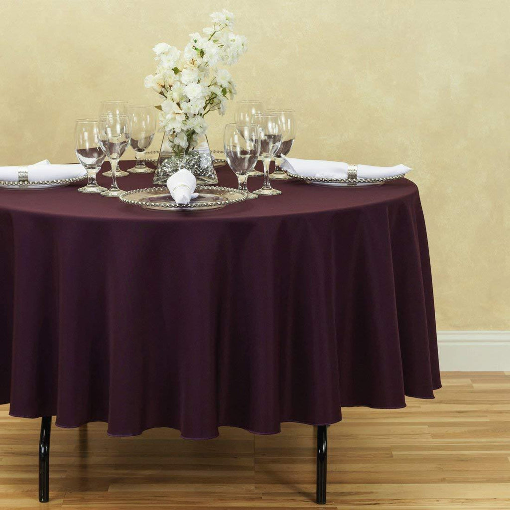 Wild Rice Permium Polyester Linen Tablecloth 1 Dz.
