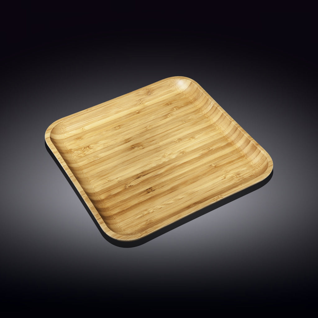 Bamboo Square Plate Set, Wilmax