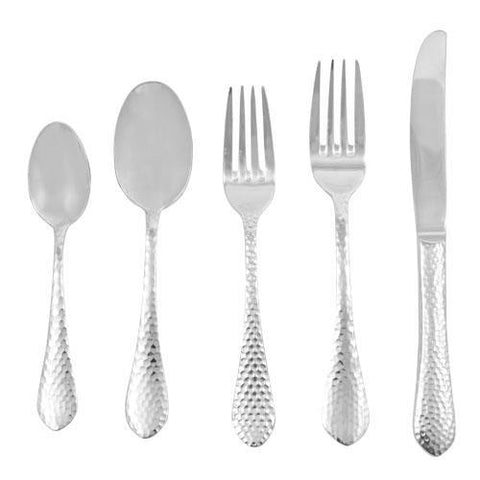 Ironstone 18/10 Stainless Steel 60-Piece Flatware Set for 12, Walco