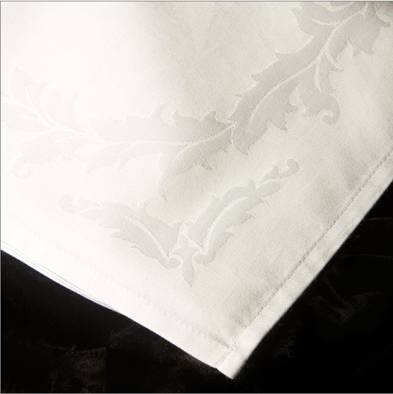Cotton Blend Baroque Beauti-Damask Tablecloth 1 Dz.